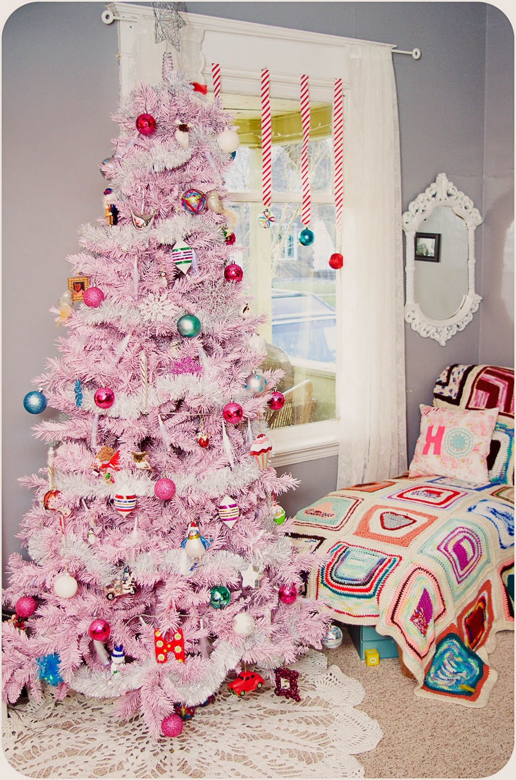 Christmas tree fashionable trends