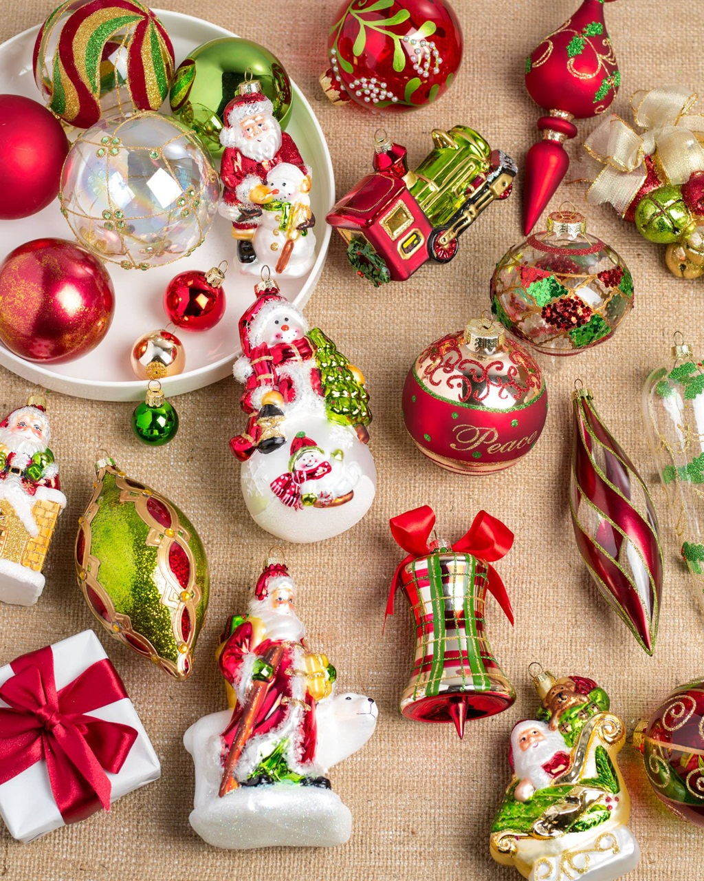 charm affordable Christmas decorations